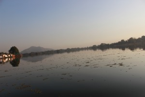 the expanse of Nigeen Lake