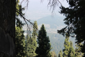 From this point, you can see the Baramulla district