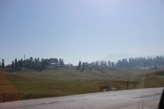 gulmarg though small is a beautiful cup shaped valley in the Pir Panjal range